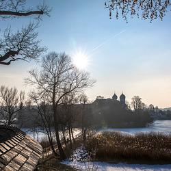 Kloster Seeon - Blick vom Weinberg