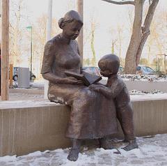 Bronzeskulptur von Emma-Maria Lange