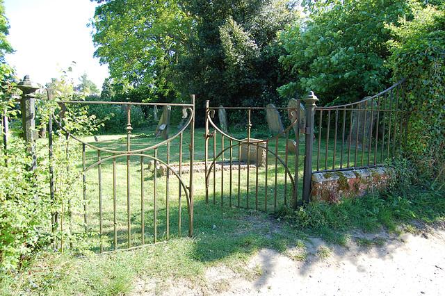 Wenhaston Churchyard Gates, Wenhaston, Suffolk