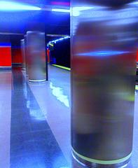 Mar de Cristal metro station, Hortaleza, Madrid