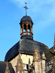 Église de Dieppe et son campanil !
