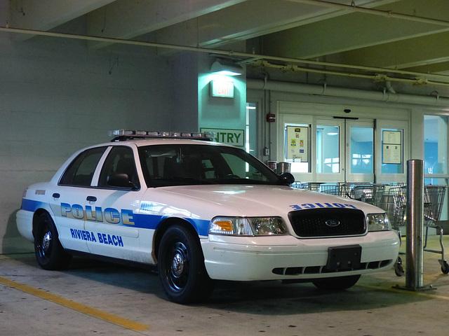 Riviera Beach Police Crown Vic - 25 January 2016