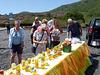 Buying Honey Near Mount Etna