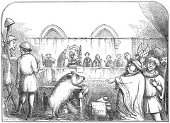Trial of a sow and pigs at Lavegny (1457)
