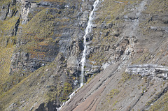 Bolivia, North Yungas Road (New Road), Waterfall