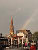 Hauptkirche St. Katharinen und der Regenbogen