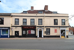 The Three Tuns, Broad Street and Earsham Street, Bungay, Suffolk