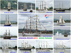 201306 Armada Seine Parade at Villequier