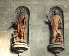 Saint Vincent and St Malo in St Malo Cathedral