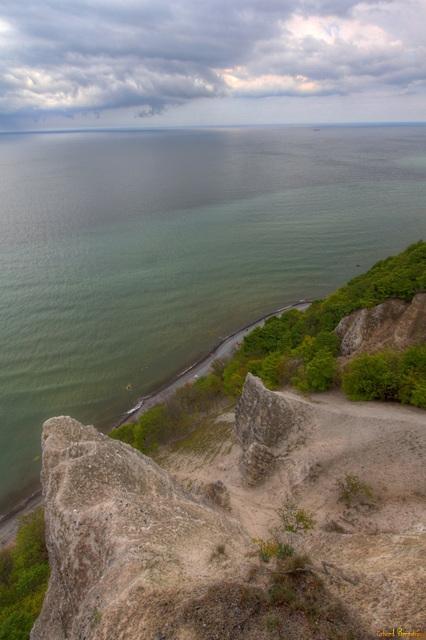 Blick von der Viktoriasicht über die Ostsee