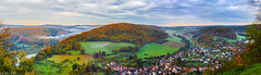 Neckar Valley in Fall Colors - Deep Zoom (240°)