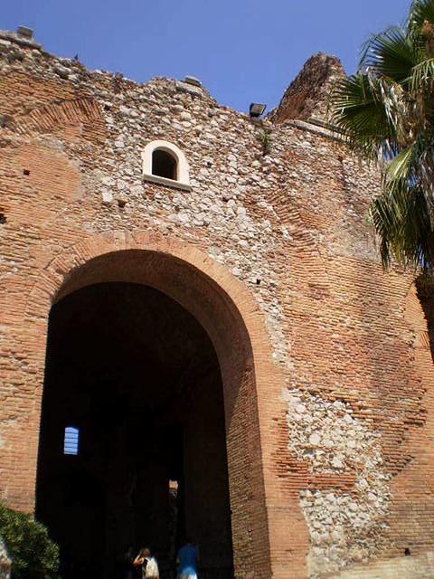 Doorway to the Greek Theatre.
