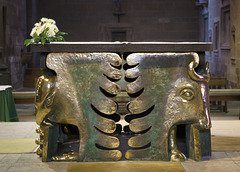 Altar at St Malo Cathedral