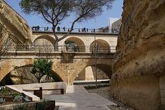 Festungsgraben von Valetta