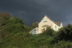 Ciel d'orage, Douarnenez (Finistère)