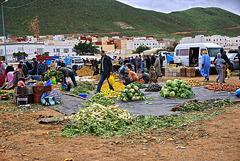 Sunday market in Sidi Ifni