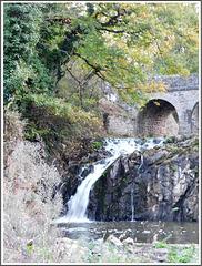 La cascade près de l'étang de Néal (22)