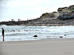 Beach at Opunake.