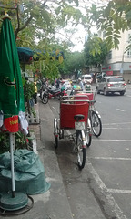 Vélo tuk tuk bike