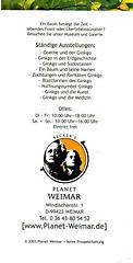 Planet Weimar Ginkgomuseum