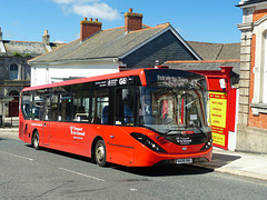 Transport for Cornwall 2412 in Redruth - 19 July 2020