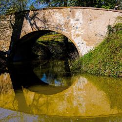 Small Bridge in Bright Light