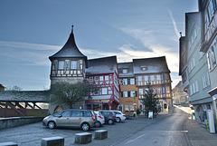 Sulferturm und Roter Steg-Schwäbisch Hall