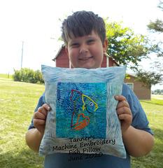 Tanner's Fish Pillow - June 2020