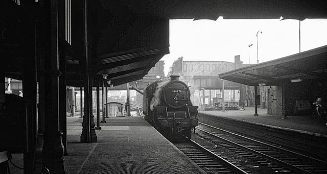 Preston Station Lancashire 9th June 1968