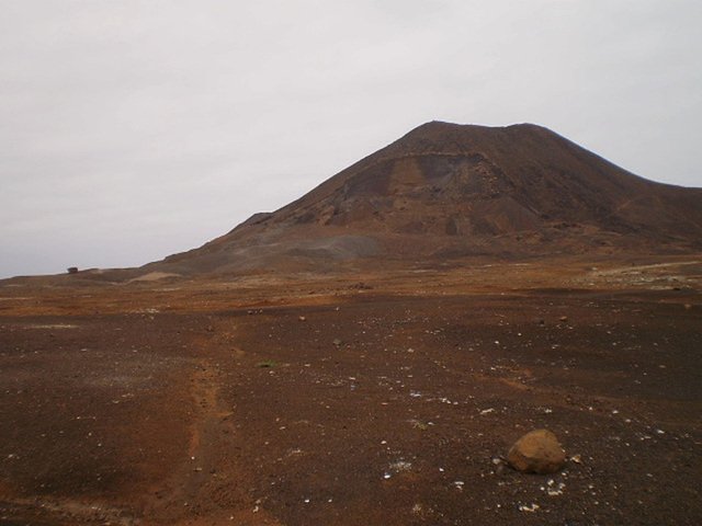 Calhau Volcano.