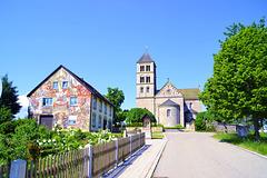 Jakobuskirche und Jakobushaus auf dem Hohenberg