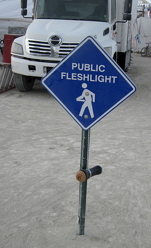 Public Fleshlight on Four-Thirty (6717)