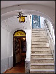 Capri : il famoso ristorante 'da Gemma' - (805)