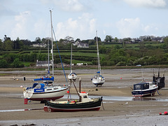 High and Dry in Red Wharf Bay