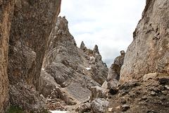 Latemardurchquerung von Obereggen zur Pisahütte