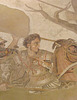 Detail of the Alexander Mosaic in the Naples Archaeological Museum, July 2012