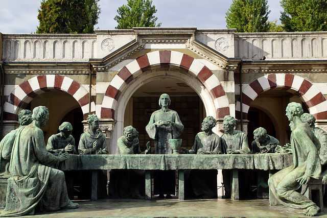 The Last Supper (Cimitero Monumentale di Milano)