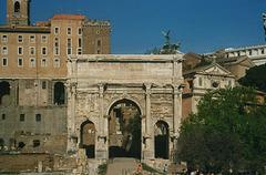 IT - Rom - Bogen des Septimus Severus