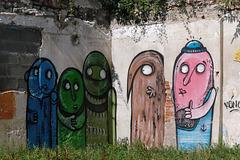 Mur de jardin