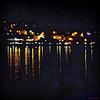 Reflets de peintre...sur une photo de nuit