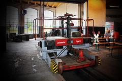 Wittenberge, Historischer Lokschuppen, Lokomotor