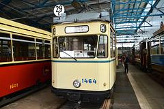 Leipzig 2015 – Straßenbahnmuseum – Tram 1464