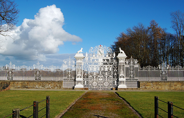 HFF everyone.  The gates of Chirk Castle