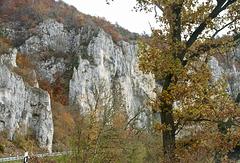Kalkwände im Oberen Donautal