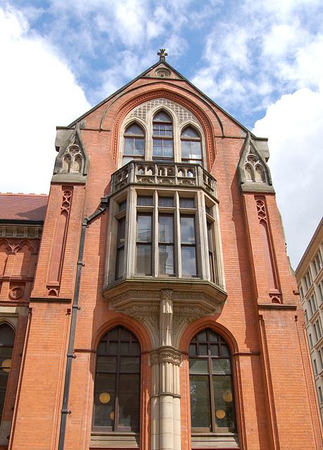 Detail of Birmingham School of Art (Designed by  John Henry Chamberlin 1883)