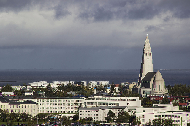 Reykjavik with Halgrimskirkja