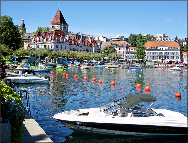 Ouchy (Lausanne) (CH) 26 août 2010.