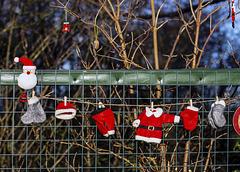 Santa's Washing Line