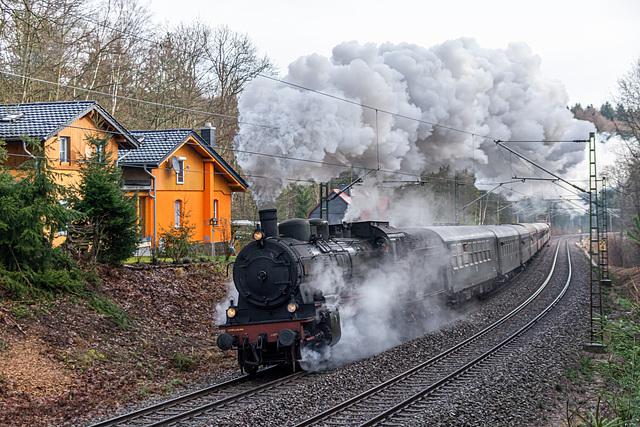 LDC Sonderzug von Cottbus über Dresden, Freiberg nach Holzhau bei Dorfhain