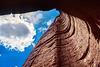 Talampaya Gorge - looking up